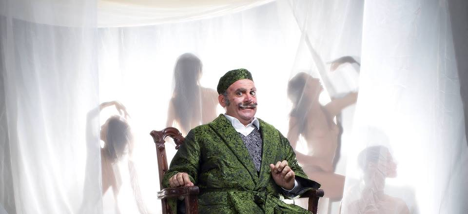 Giuseppe Esposito sings Don Pasquale in Donizetti's Opera at Slovene National Theatre- Sept.30th to  Oct. 10th