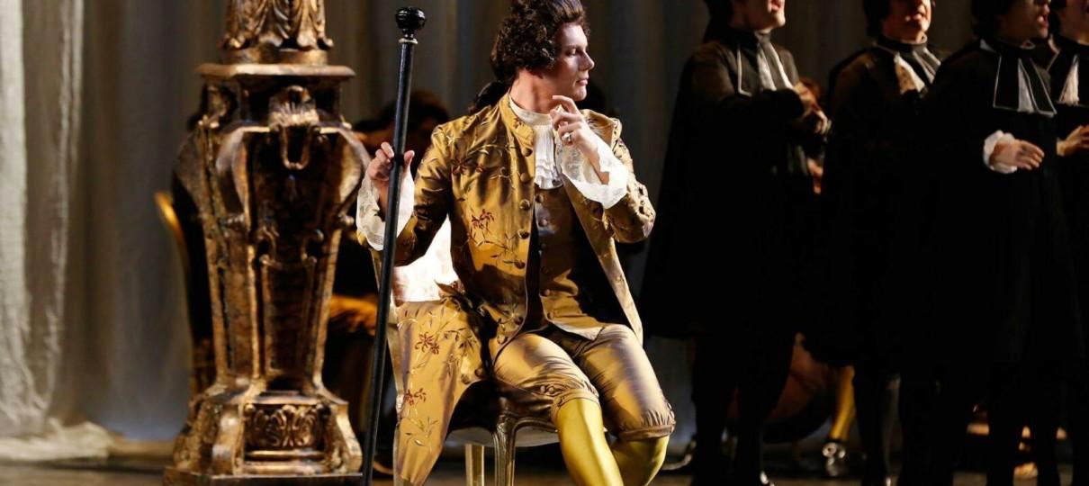 """Saverio Pugliese sings Il Maestro di ballo in Puccini's """"Manon Lescaut"""" -Teatro Regio di Torino- March 14 th To 26 th"""